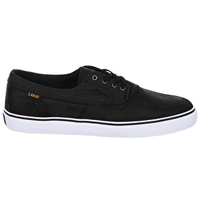 Lakai Camby Shoes - Black Oiled Suede
