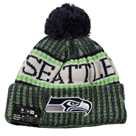 New Era NFL Sideline Beanie 2018 - Seattle Seahawks