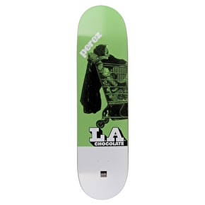 Chocolate LA Express Skateboard Deck - Perez 8.25