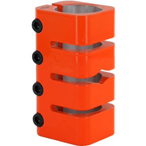 Sacrifice Shinobi Quad Clamp - Nuclear Orange (B-Stock)