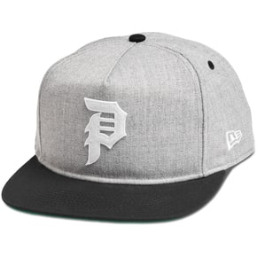 Primitive Dirty P Minor League Snapback Cap - Grey Heather