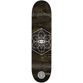 Karma MK Ultra Skateboard Deck - Black - 7.875