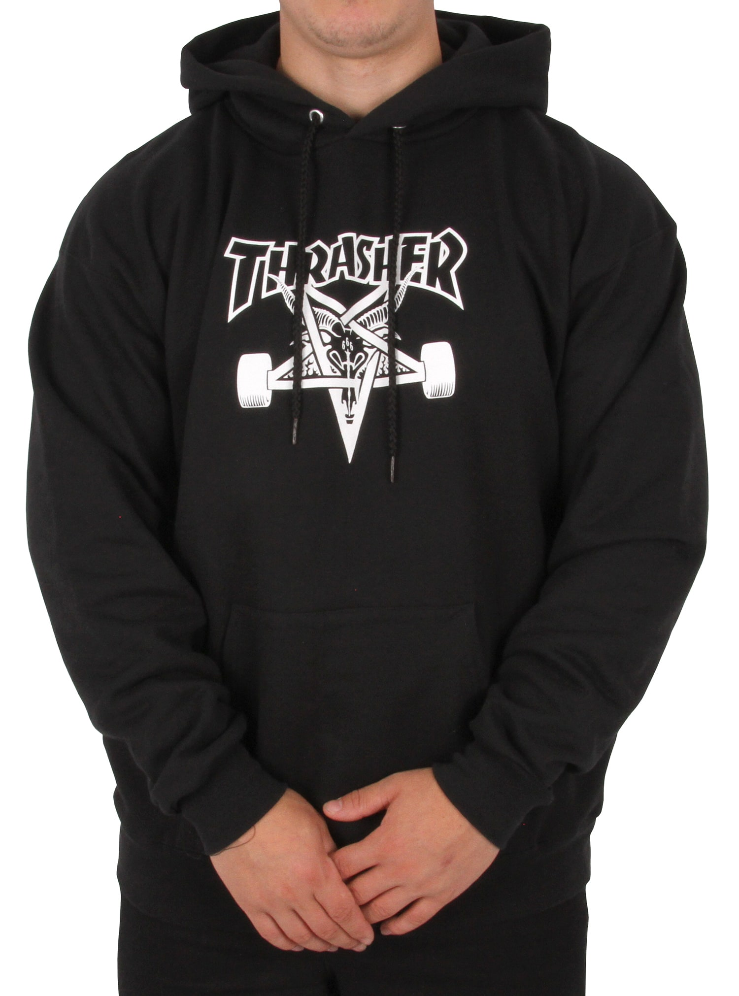 Thrasher Skategoat Hoodie Black Skate Hoodies Cheap