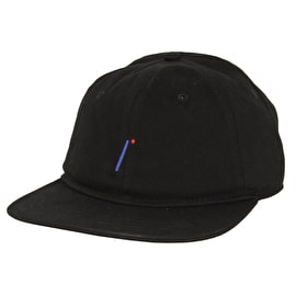 Isle I Logo - 6 Panel Cap - Black