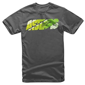 Alpinestars Bars T-Shirt - Charcoal