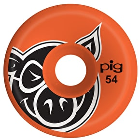 Pig C-Line Skateboard Wheels - Orange 54mm