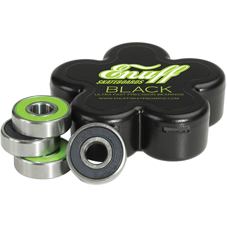 Enuff Black Bearings (Pack of 8)