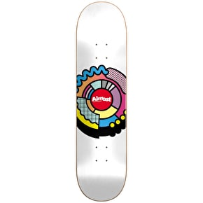 Almost Center Block R7 Skateboard Deck - Multi 8.125