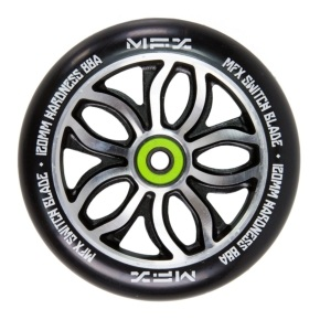 MGP MFX Switch Blade Scooter Wheel - R Willy Signature 120mm Black