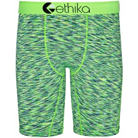 Ethika Classics Heather Boxers - Green