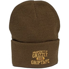 Grizzly Property Of Grizzly Beanie - Military Green