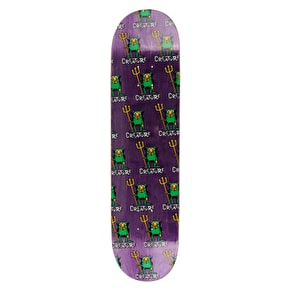 Creature Beelzebub Hard Rock Maple Skateboard Deck - Purple 8