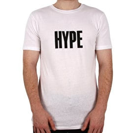 Hype Block Hype T Shirt - White/Black