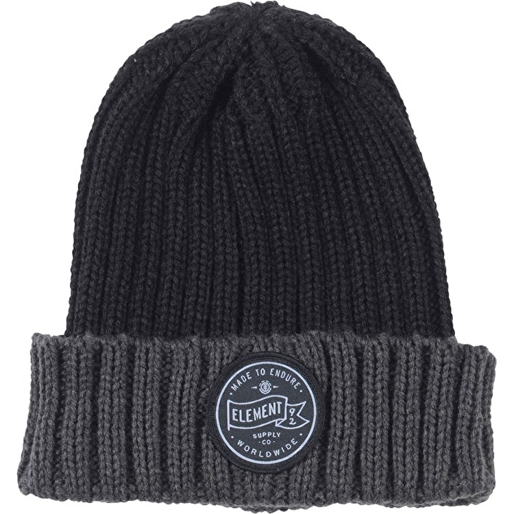 Element Counter Beanie - Asphalt