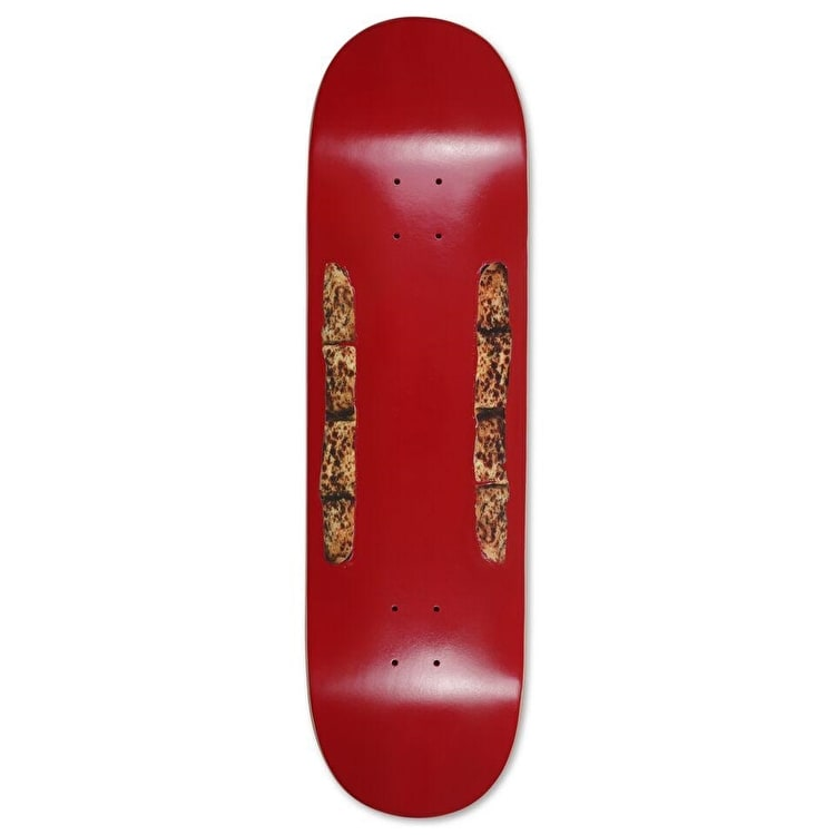Pizza Skateboards Bread Slix Skateboard Deck - Burgundy - 8.75""