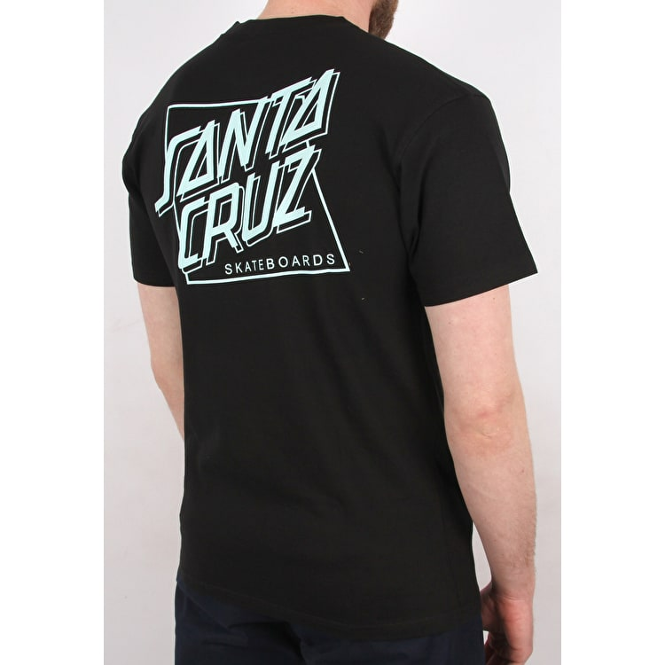 Santa Cruz SC Squared T shirt - Black