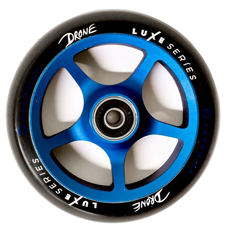 drone luxe series 110mm scooter wheel blue drone scooter wheels