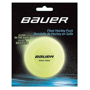 Bauer Glow In The Dark Hocky Puck