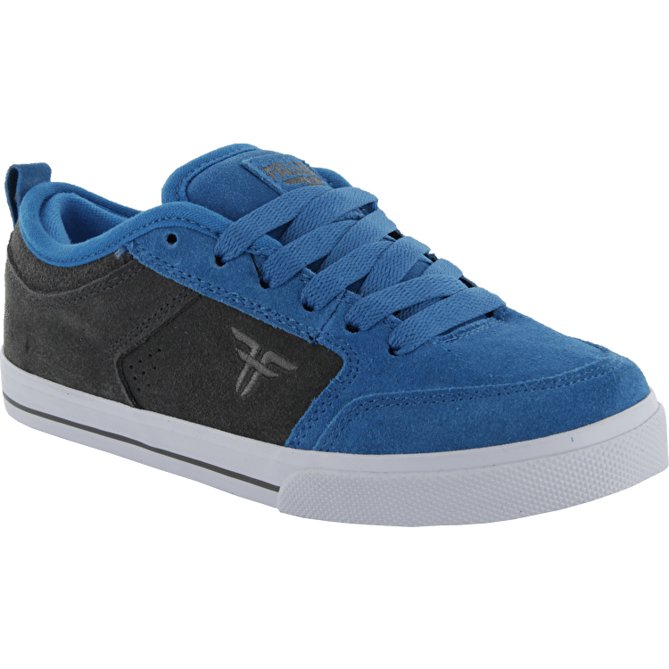 Fallen Clipper SE Kids Skate Shoes - Sky Blue/Gunmetal