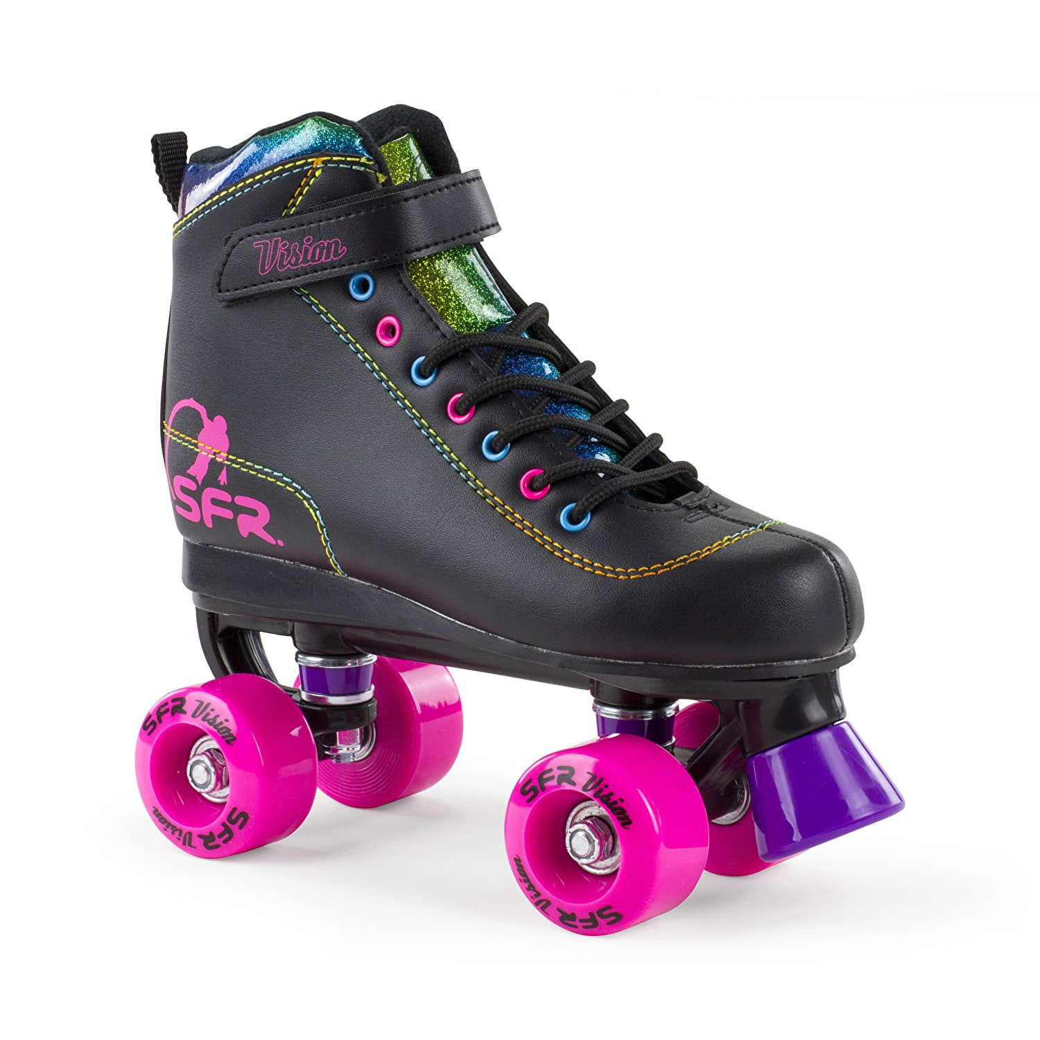 Pop out roller skate shoes - Responsive Image