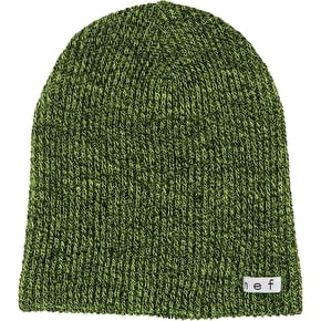 Neff Daily Heather Beanie - Lime/Black