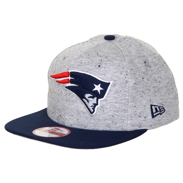 New Era 9Fifty Jersey Team New England Patriots Cap - Grey/Navy