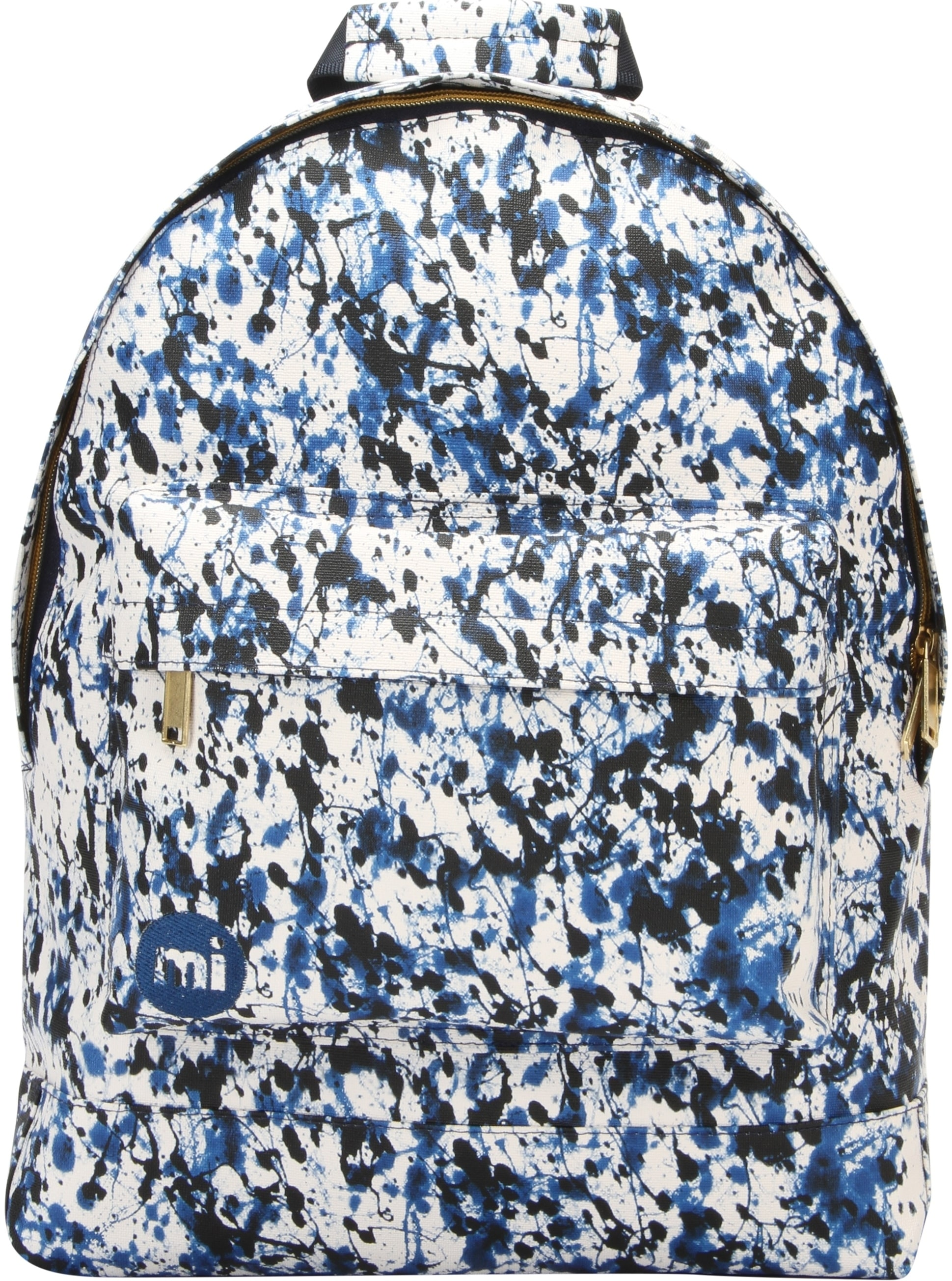 MiPac Paint Splash Backpack  BlueBlack