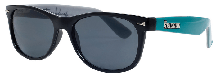 Image of Brigada Terry Kennedy Warrant Sunglasses - Black
