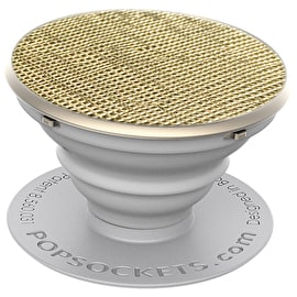 PopSockets Grip - Saffiano Gold