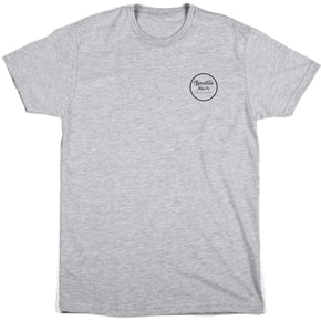 Brixton Wheeler II Short Sleeve Standard T-Shirt - Heather Grey
