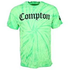 Gold Groovy Compton T-Shirt - Lime