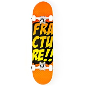 B-Stock Fracture Skateboard - Comic VT Orange 7.5'' (Cosmetic Damage)