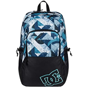 DC Detention II Backpack - Blue Geo Rusto