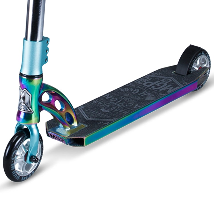 MGP VX7 Team LE Complete Scooter - Neochrome/Teal