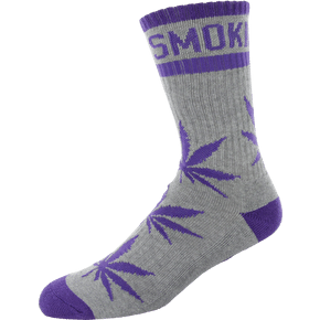 DGK Stay Smokin 2 Crew Socks - Heather/Purple