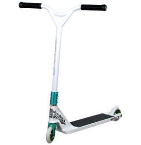 District Custom Scooter - White/Turquoise - V2