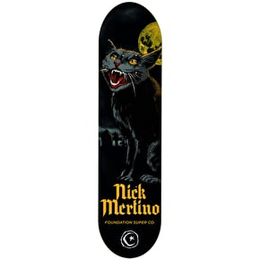 Foundation Horror Skateboard Deck - Merlino 7.875