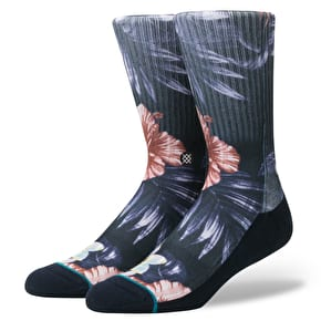 Stance Lounge Bird Socks - Navy