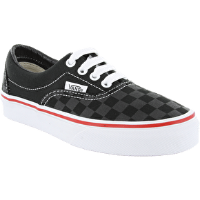Vans Era Kids Shoes - (Tonal Check) Black