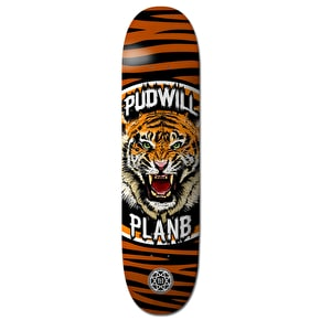 Plan B Pudwill Savages BLK ICE Skateboard Deck - 8