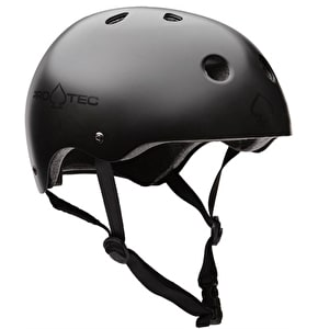 Protec The Classic Helmet - Satin Black