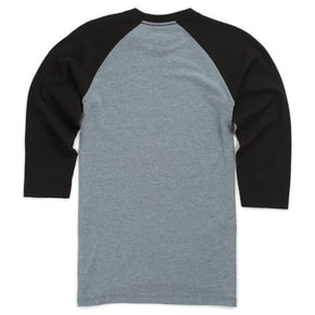 Vans Focus Kids Raglan T-Shirt - Heather Grey/Black