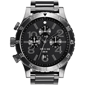 Nixon The 48-20 Chrono Watch - All Gunmetal