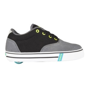 Heelys Launch - Charcoal/Black/Lime