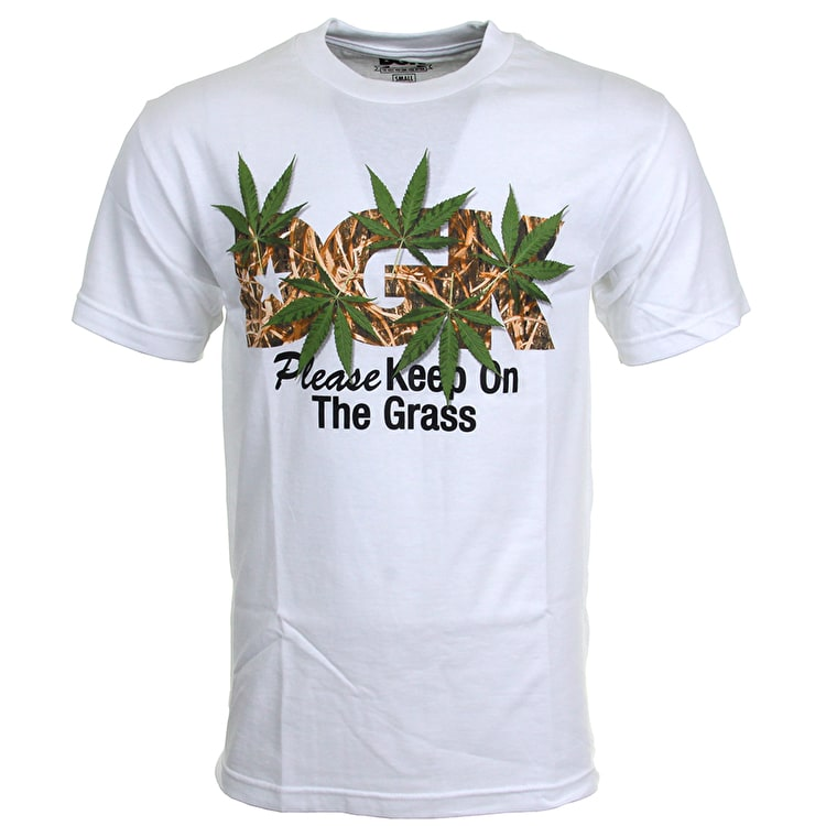 DGK Keep On The Grass T-Shirt - White