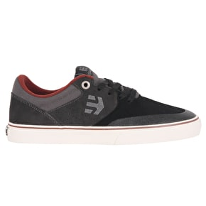 Etnies Marana Vulc Skate Shoes - Black/Charcoal
