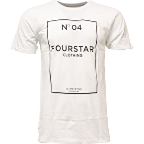 Fourstar No.04 T-Shirt - White