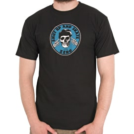 Zero Shut Up & Skate T-Shirt - Black