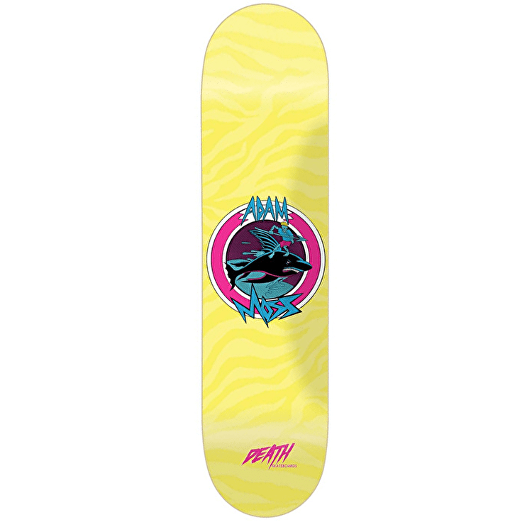 Death Surf Skateboard Deck - Adam Moss 8.5""