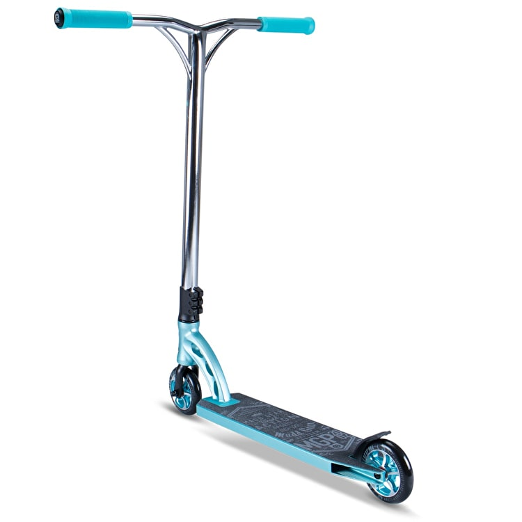 MGP VX7 Team Stunt Scooter - Teal/Chrome